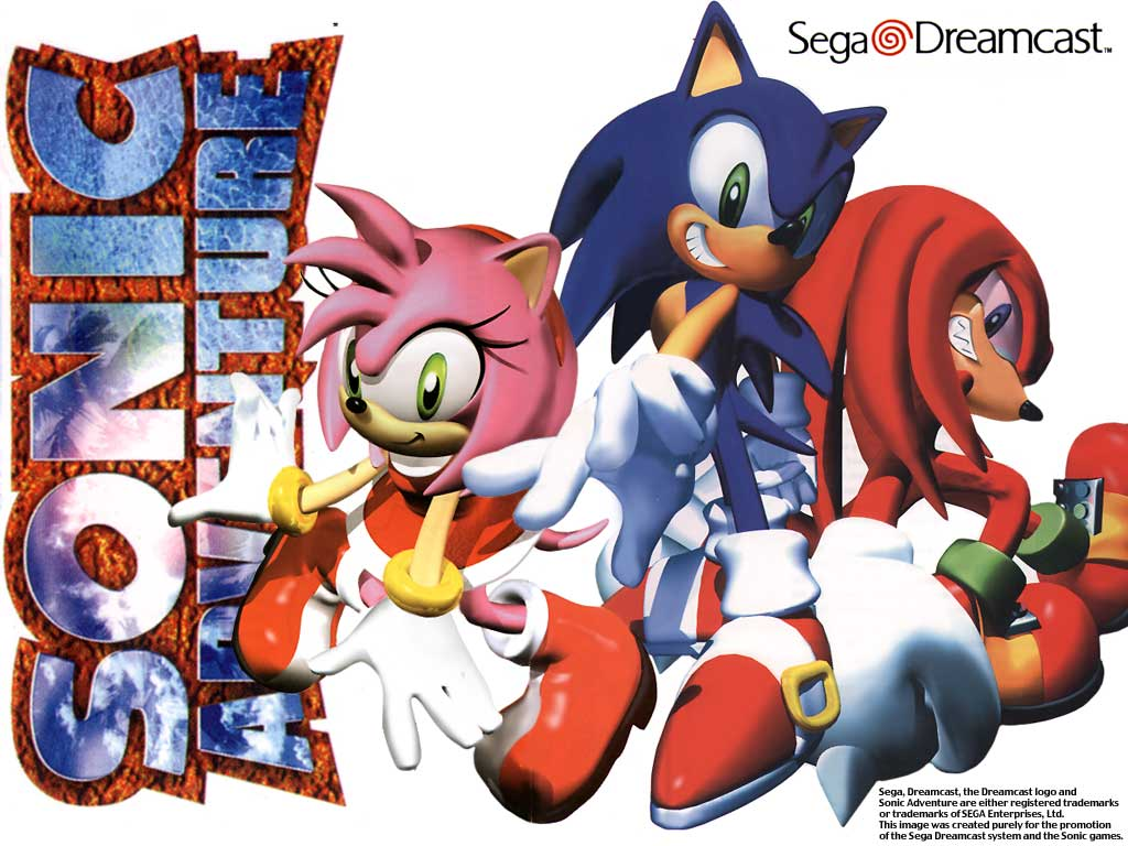 Sonic Adventure Wallpaper