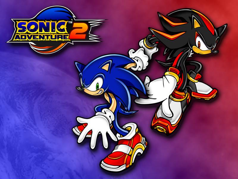 Shadow of a Hedgehog ./ Desktop ./ Sonic Adventure 1 &amp- 2 Wallpapers
