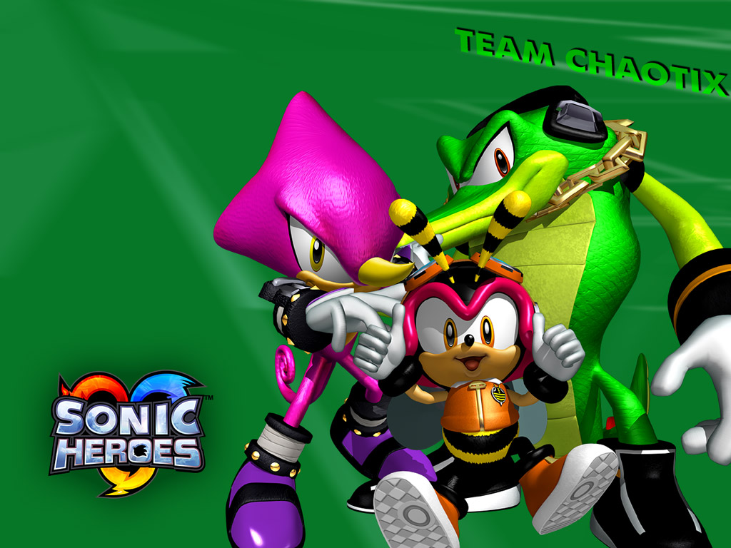Shadow of a Hedgehog ./ Desktop ./ Sonic Heroes Wallpapers