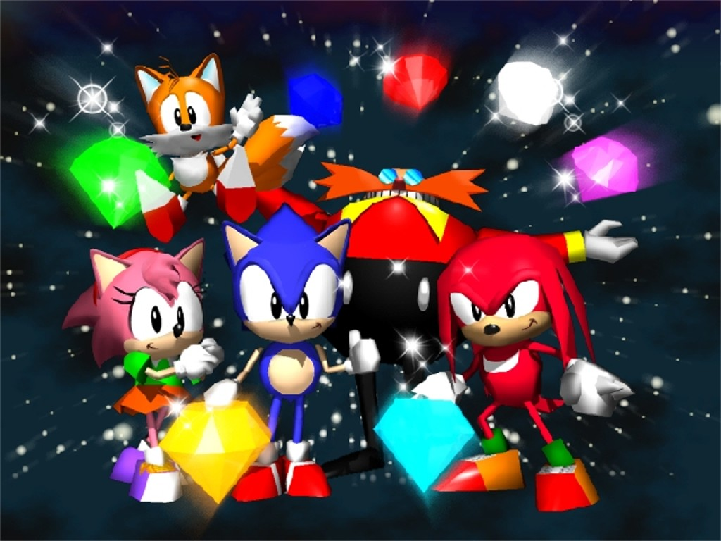 Video Game Reviews Sonic R Amp Sonic Jam