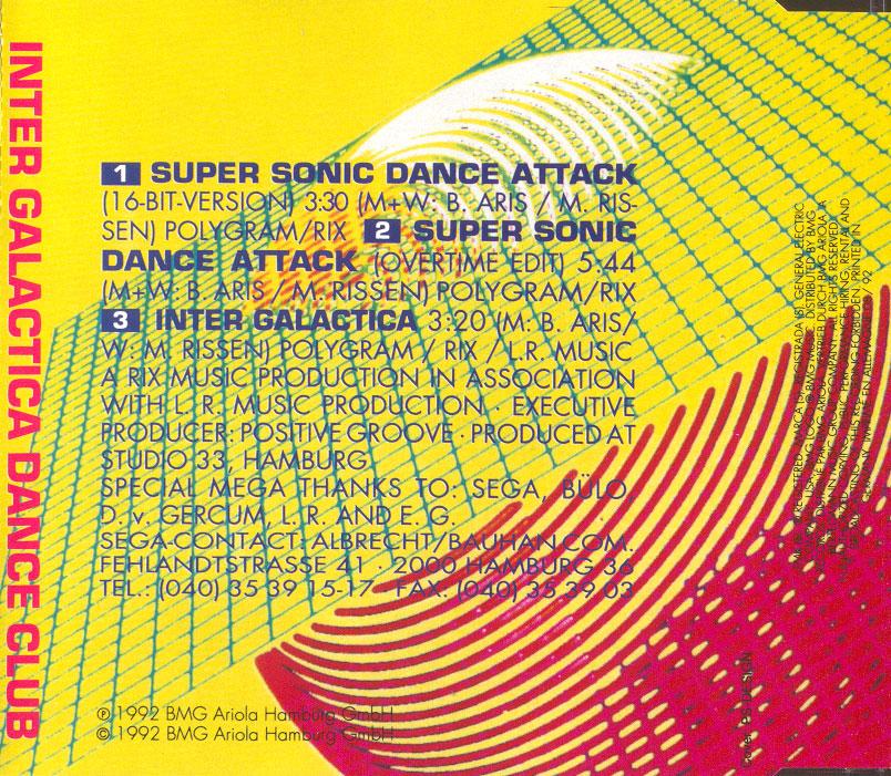 Inter Galactica Dance Club - Super Sonic Dance Attack
